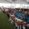 Centenares de burócratas se reunieron para poner en marcha la edición 2012