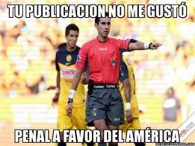 Memes Penal a favor del América - Extremo Deportivo