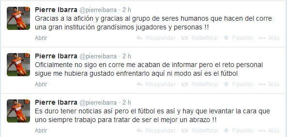 Se despide Pierre Ibarra