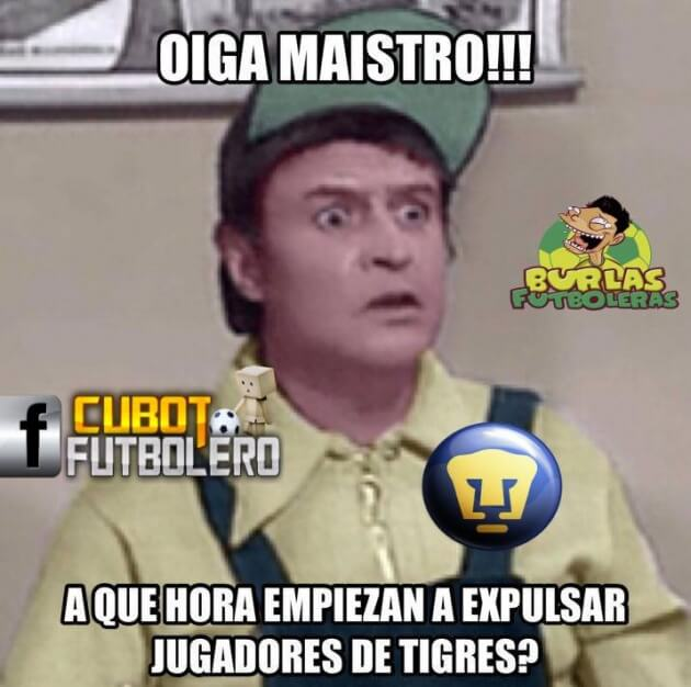 Memes Final de ida Tigres vs Pumas Extremo Deportivo