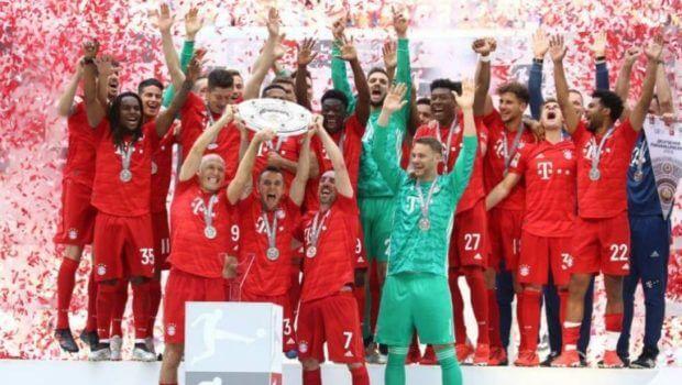 Bayern conquista con goleada su séptima Bundesliga consecutiva