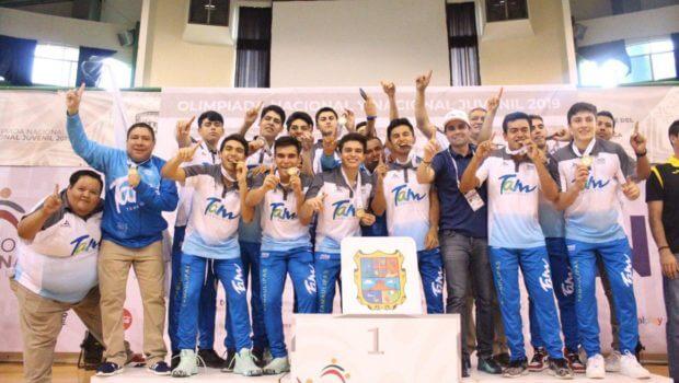 Medalla de Oro para Basquetbolistas Tamaulipecos