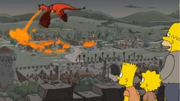 ¡Lo vuelven a hacer! Los Simpson predicen capítulo de Game Of Thrones