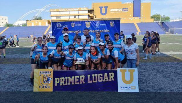 Campeona la UAT en Tochito Desafío Azul y Oro
