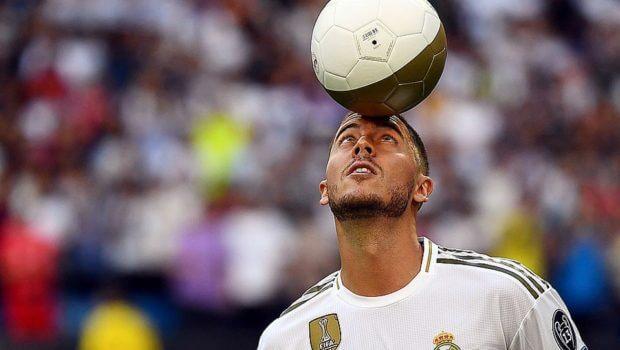 'Solo quiero ganar trofeos'; Eden Hazard fue presentado ante 50,000 personas con el Real Madrid