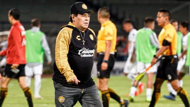 'Recupérate y nos vemos pronto': Dorados anuncia que se va Maradona